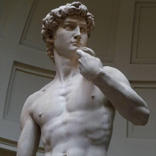 Primeira exibição da estátua David, de Michelangelo