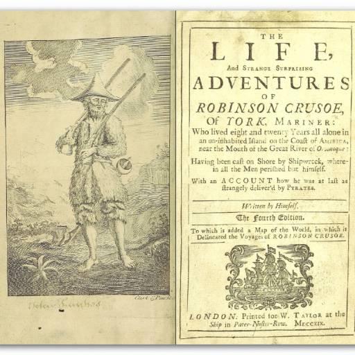 Foi resgatado Alexander Selkirk de uma ilha deserta