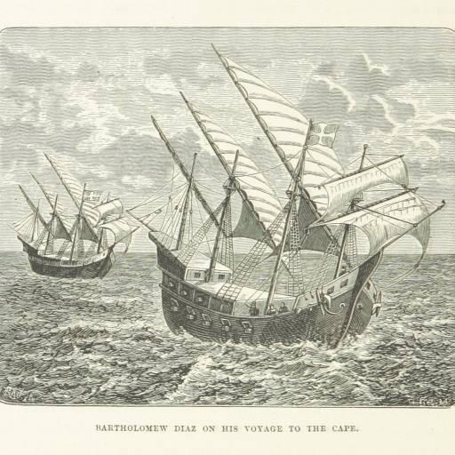 Bartolomeu Dias dobrou o Cabo da Boa Esperança