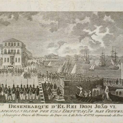 D. João VI promulgou um decreto que anunciou o seu retorno e da corte a Portugal