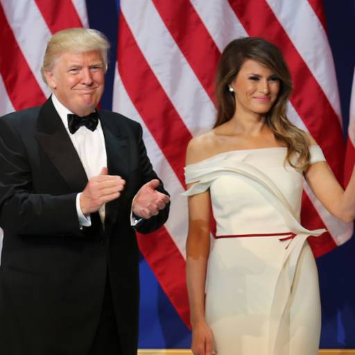 Nasceu Melania Trump