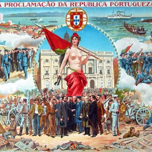 Aprovação da Constituição da República Portuguesa