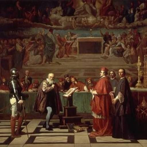 Começou o interrogatório da inquisição a Galileu Galilei
