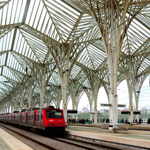 Foi inaugurada a Gare do Oriente