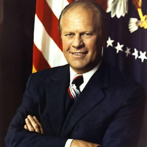 O presidente Gerald Ford perdoou os delitos que Richard Nixon poderá ter cometido sobre o caso Watergate
