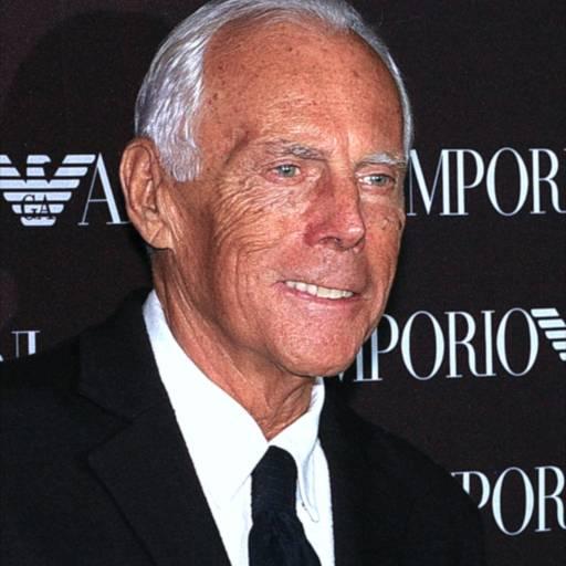 Nasceu o estilista Giorgio Armani