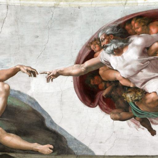 O tecto da capela Sistina pintada por Michelangelo foi apresentada ao público
