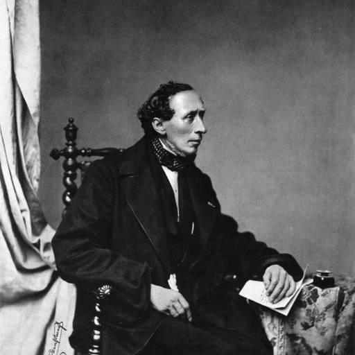 Nasceu o escritor Hans Christian Andersen