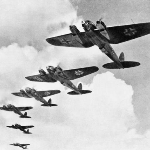 Hitler deu início ao ataque aéreo a Inglaterra