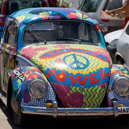 O jornalista Michael Fallon utilizou pela primeira vez o termo hippie