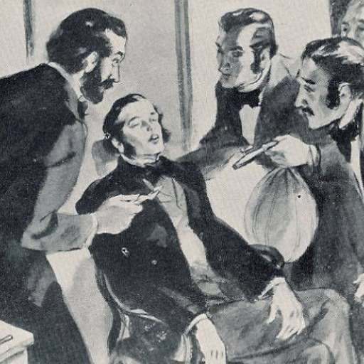 Horace Wells, tornou-se a primeira pessoa a receber anestesia para uma cirurgia dentária