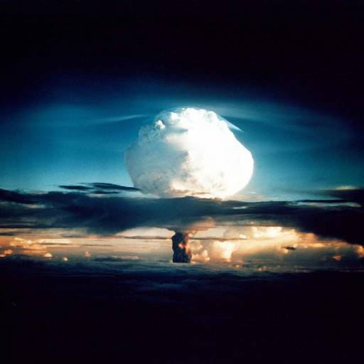 Estados Unidos testou, nas Ilhas Marshall, no Oceano Pacífico, a primeira explosão de uma bomba de Hidrogénio