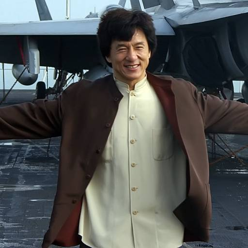 Nasceu o actor Jackie Chan