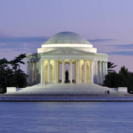 Foi inaugurado o Jefferson Memorial