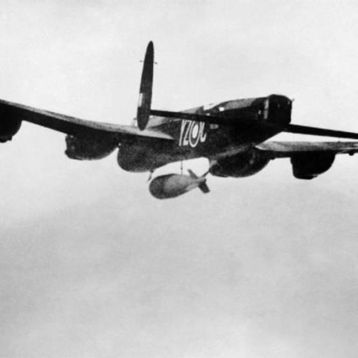 A força aérea britânica lançou 2,3 mil toneladas de bombas sobre Berlim