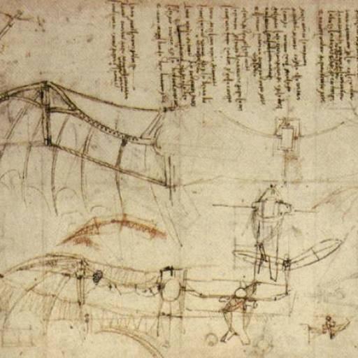 Leonardo Da Vinci testou sem sucesso a sua máquina voadora