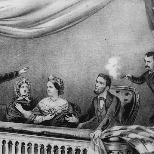 Abraham Lincoln foi baleado por John Wilkes Booth