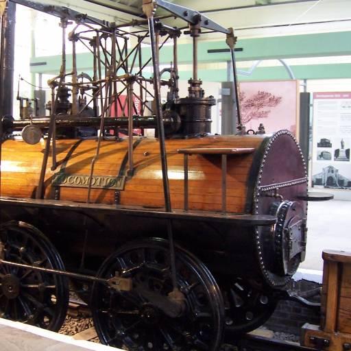 Entrou em funcionamento a primeira locomotiva