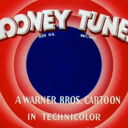 Foi criado o desenho animado Bip Bip e Coyote