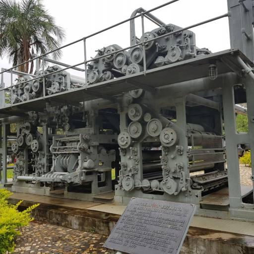 Foi registada a patente da máquina de impressão rotativa