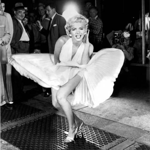 Marilyn Monroe fez sua famosa cena no filme O Pecado Mora ao Lado