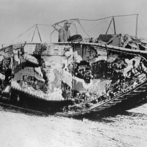 Foi criado o primeiro Tanque de guerra