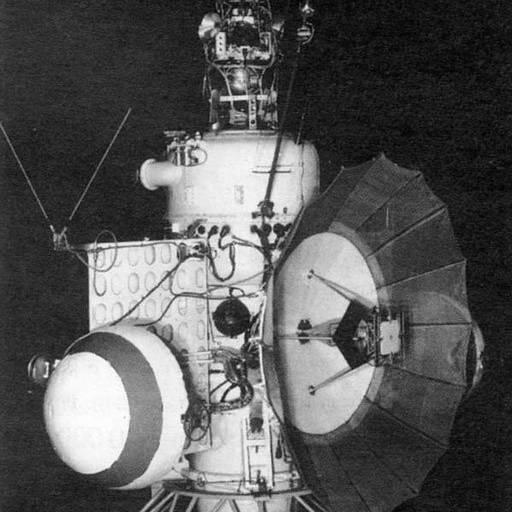 A URSS lançou a primeira nave espacial com destino a Marte
