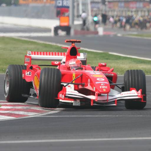 Michael Schumacher tornou-se hexacampeão mundial de Fórmula 1