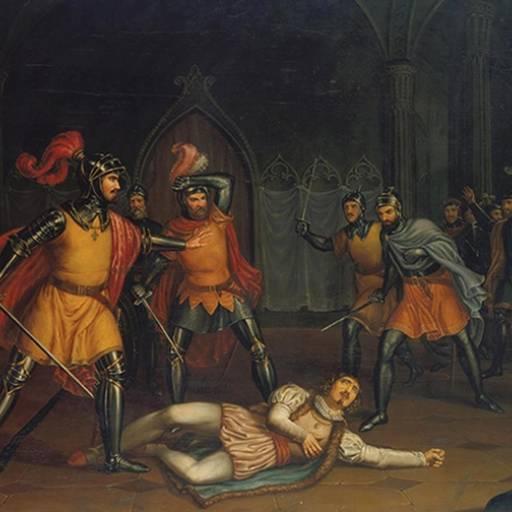 D. João, Mestre de Avis, matou o conde de Andeiro
