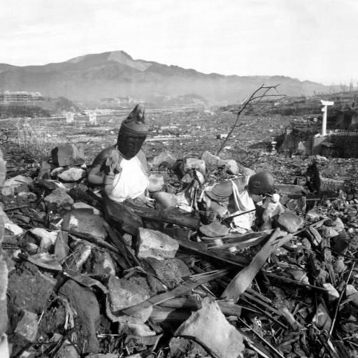 Foi lançada a bomba atómica sobre Nagasaki