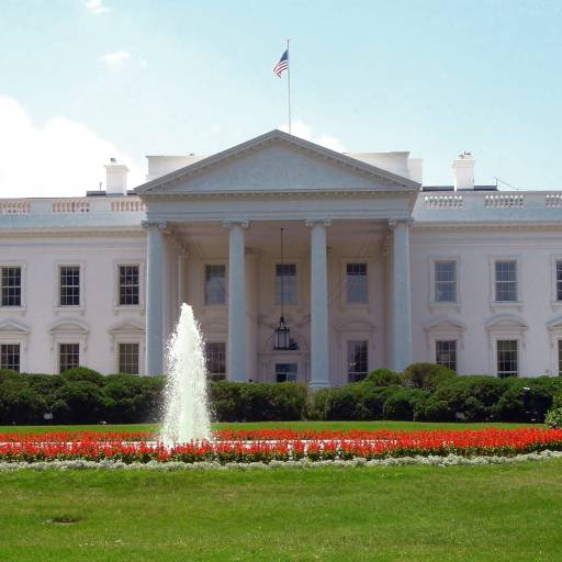 Foi colocada a pedra fundamental na Casa Branca, em Washington