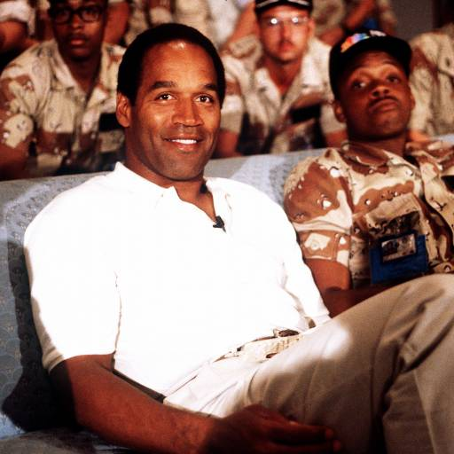 O.J. Simpson foi absolvido da acusação de assassinato de Nicole Brown Simpson e Ronald Goldman