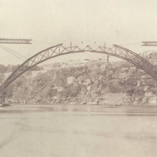Foi inaugurada a Ponte Dona Maria Pia