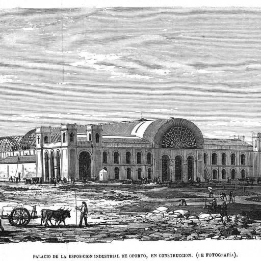 Foi inaugurado o Palácio de Cristal, no Porto