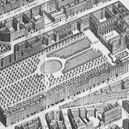 Um incêndio destruiu totalmente o Palais-Royal em Paris