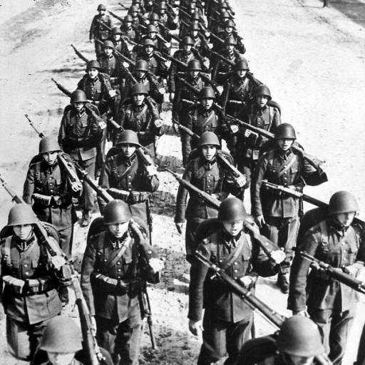 Começou a II Guerra Mundial com a invasão da Polónia