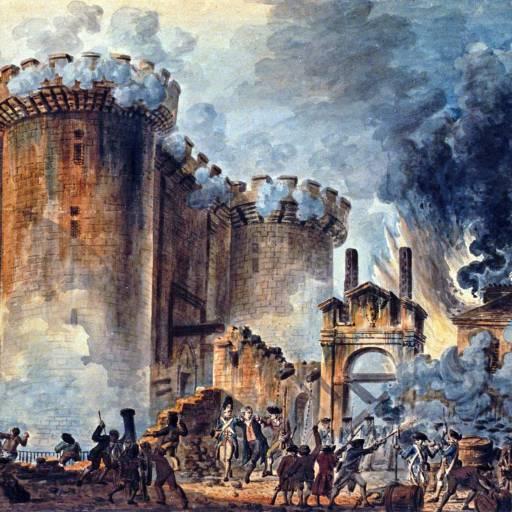 Ocorreu a tomada da Bastilha, durante a Revolução francesa