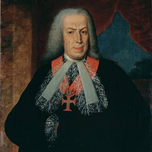 Sebastião José de Carvalho e Melo recebe o título de Marquês de Pombal pelo rei D. José I