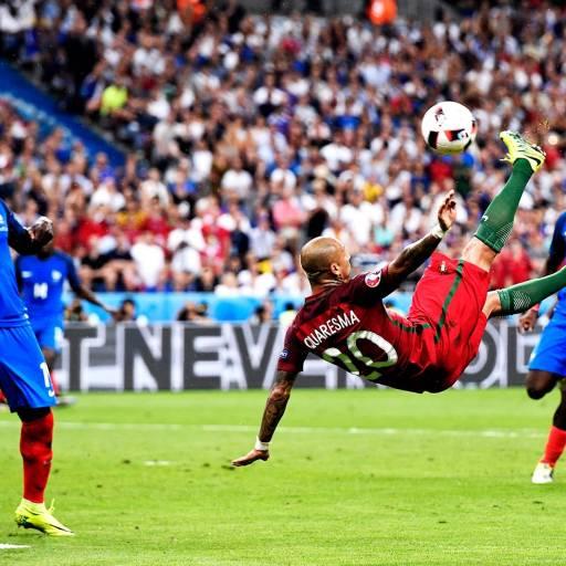A Selecção Portuguesa de Futebol venceu pela primeira vez na história o Campeonato Europeu de Futebol