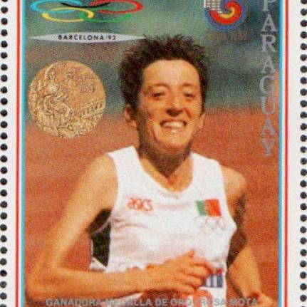 Rosa Mota venceu a maratona nos Jogos Olímpicos de Seul