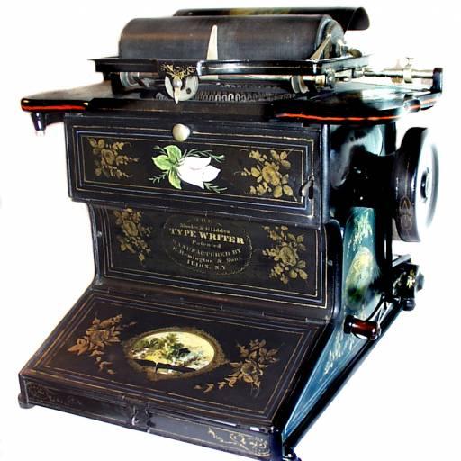 Christopher Sholes recebeu a patente da Máquina de Escrever com teclado QWERTY