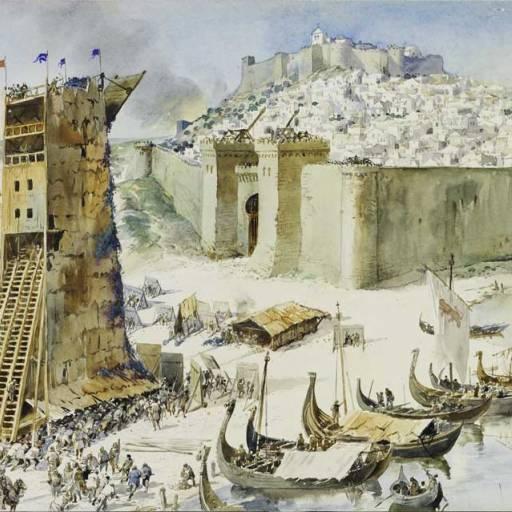 Ocorreu o Fim do cerco de Lisboa na Crise de 1383-1385
