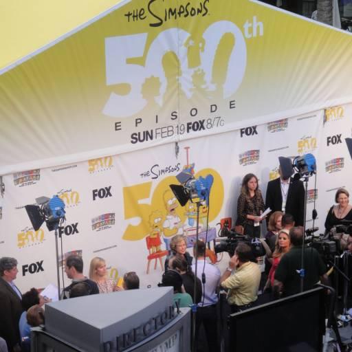 Os Simpsons completaram 500 episódios