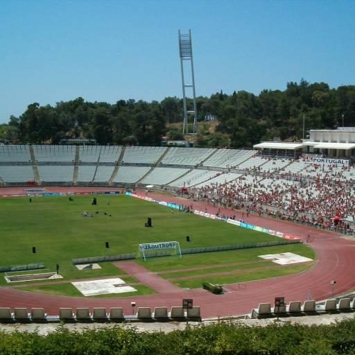 Foi inaugurado o Estádio Nacional do Jamor
