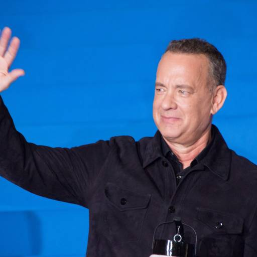 Nasceu o actor Tom Hanks