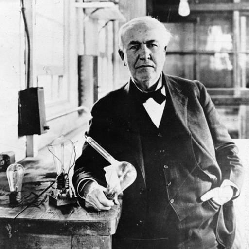 Nasceu o inventor Thomas Edison