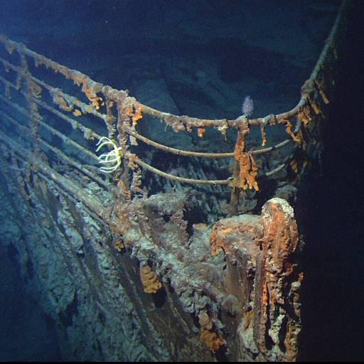 Foram encontrados, pela primeira vez, os restos do Titanic