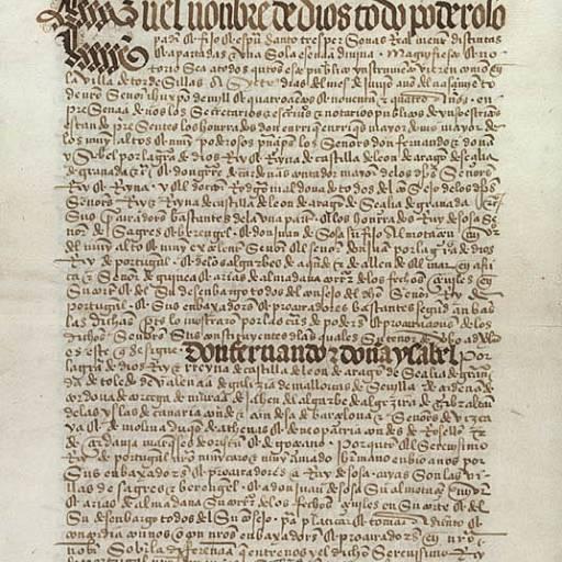 Portugal e a Espanha assinaram o Tratado de Tordesilhas