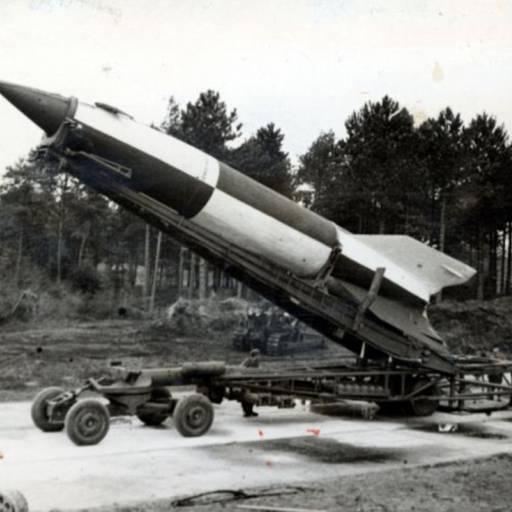 Os alemães lançaram as bombas V-2 sobre Londres