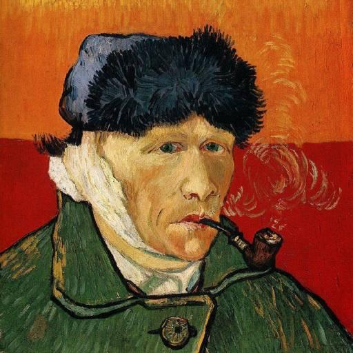 Vincent Van Gogh cortou a sua orelha direita